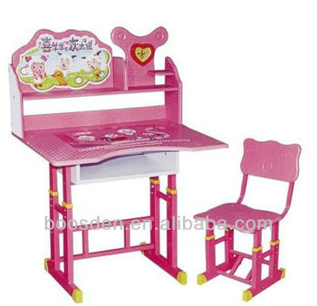 Children Study Table And Chair Bsd 850032 Buy Child