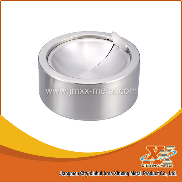 Hot Sale Pocket Stainless Steel Ashtray Metal Cigar Ashtray With Lid