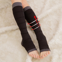 Knee High Leg Massage Women Night Compression Socks