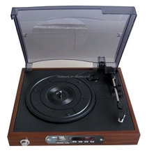 Modern usb sd phonograph, record stereos with turntables audio player