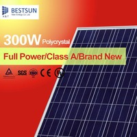 Bestsun Price per watt Chinese Solar Panels 300 watt Polycrystalline for home