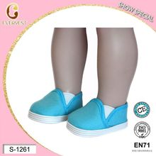 Sky Blue Wholesale 18 inch American Girl Doll Shoes