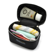 Black Women's Cosmetic Bag Case Beauty Product Makeup Organizer Toiletry Travel Storage Box Tools Accessories Suppliers