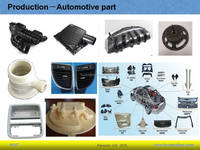 injection molds and related plastic products