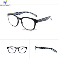Alibaba China Supplier Italian Injection Low Cost Eyeglasses Plastic Reading Glasses