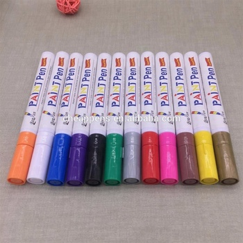 18 colour paint marker set oil based permanent marker pen
