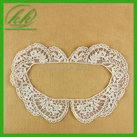 100% woman detachable cotton embroidery lace collar