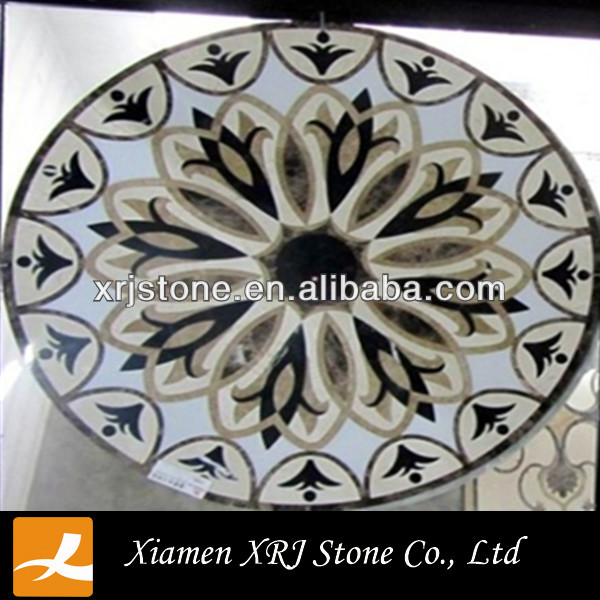 chinese marble tile floor medallions