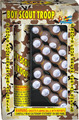 6 bangs Artillery shells Boy Scout Troop monkey fireworks 4 break fountain