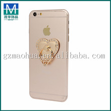 PRH50 Hot Sale Smart Heart Holders Universal Ring Mobile Phone Holders Ring Drop Resistance Stent Buckle Cell Phone Stands