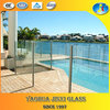 Tempered Glass Cheap Clear Panel Fence