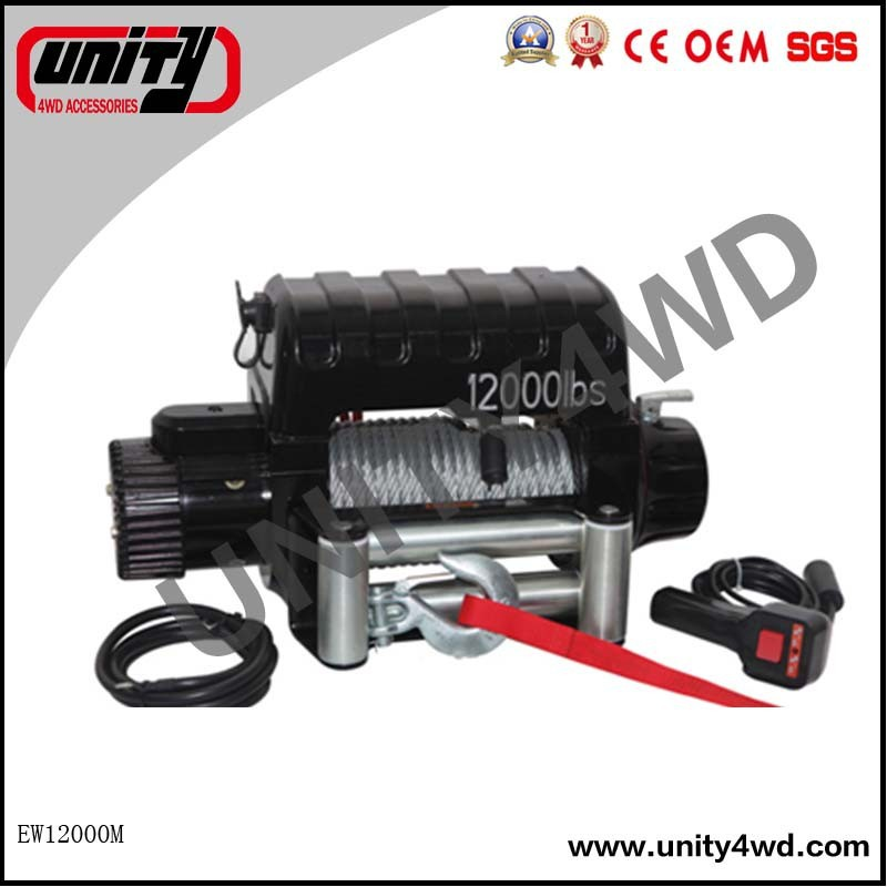 NEW CE OEM colourful box 12000lb Recovery Strong 4x4 Electric winch