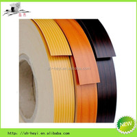new hot selling furniture pvc plastic wood grain edge strips