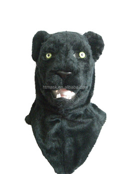 black panther head mask Animal panther Shape Face Mask EVA Toy Silicone Mask 7P/EN71/CADMIUM/REACH