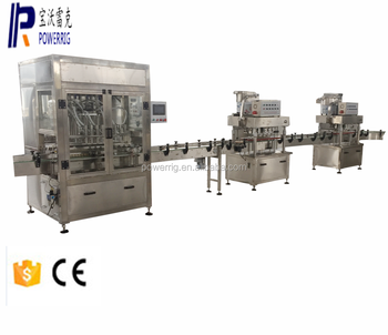 Powerrig machinery ZX-8 fully automatic filling machine for gel and cosmetic cream