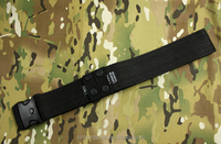 BH thickened 600D nylon black military tactical outside belts