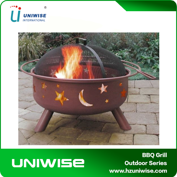 Moon & Star Romantic Safety Outdoor Fire Pit