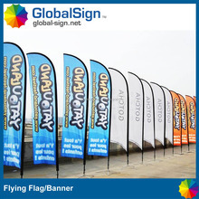 Flag Banner Advertising Banner ,Outdoor Teardrop Flag Banner,High Quality Flying Beach Banner