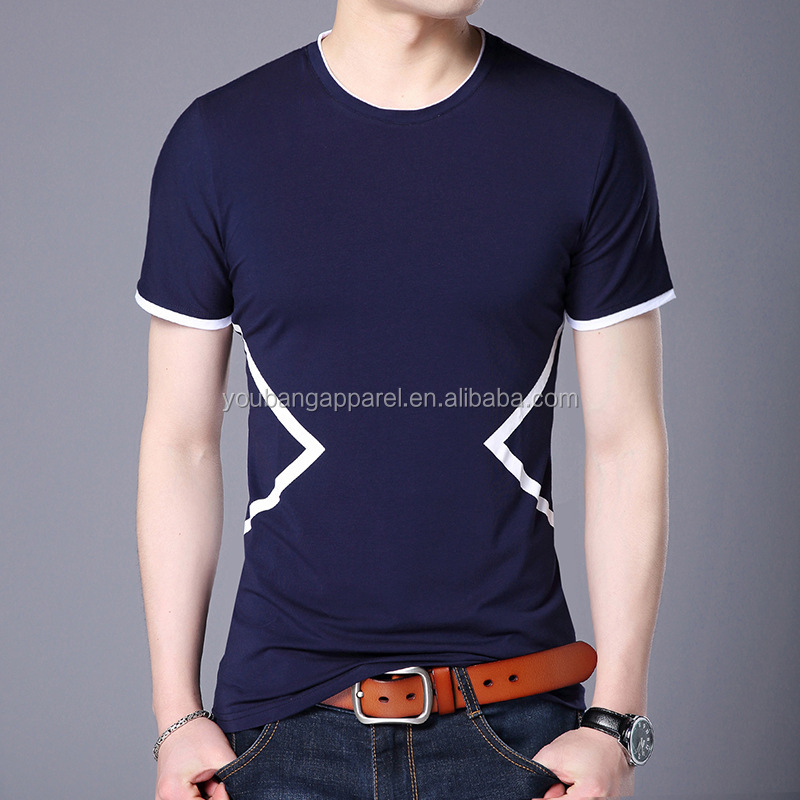 2019 summer o-neck short sleeves cool man classic t-shirt printing pattern jersey sweatshirts nice quality