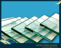Green Low- E Glass with Good Quality for Glass Curtain Wall