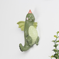 Roogo 2017 new item unique cartoon dragon design funky wall hook for curtain