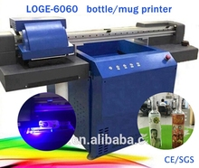 SLJET glass plastic wine bottle cup object inkjet printer printing on cylinders