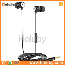 Mobile accessories Universal HOCO 1.2M line Control Earphone headphones With Microphone ear cup For Mobile phone watch receiver