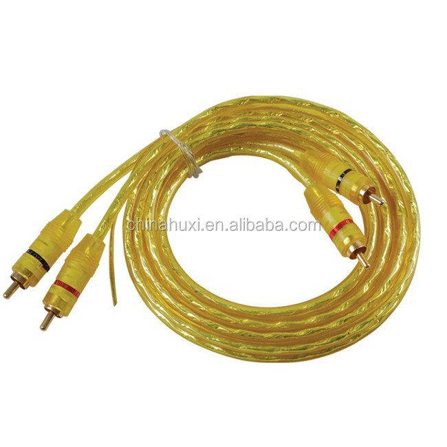 Haiyan Huxi New Arrival High Quality High End 3 Rca To 3rca Cable Vga Rca