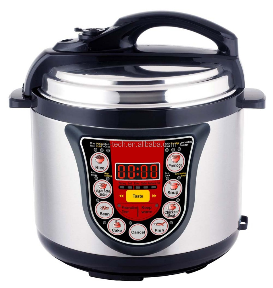 Multi Function Electric Pressure Cooker with LED display