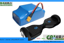 14s2p 52v 4.4 ah for electric scooter/monocycle/unicycle battery pack motion sensor self balance scooter