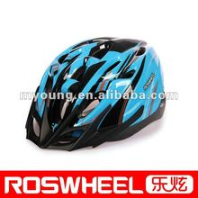 Out-mold Custom road bike helmet with LED light