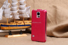 Wholesale - Flip PU Leather Case Cell Phone Protective Cover Skin Shell for Samsung Galaxy S5 i9600