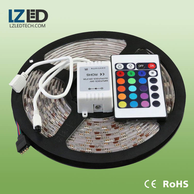 SMD3528 2835 5050 led rgb luz flexible tira de cinta 12v 24v