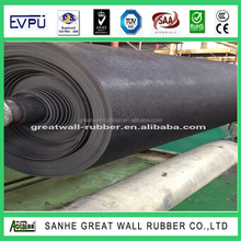 3mm Thickness Aging - resistant farm stable rubber interlocking cow matting