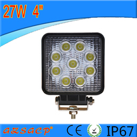 Direct factory auto led work light shock price 27w led work light 4inch