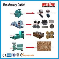 sawdust coal charcoal briquette machine with factory price