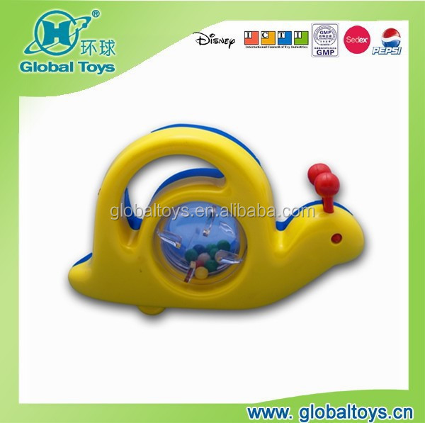 HQ9620 snail for baby toy with EN71 standard for promotion toy