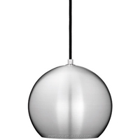 Chroming round metal ball pendant lamp from lighting fair