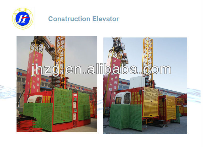 hot sale, china SC series building hoist and the best price construction elevator