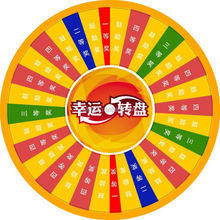 Wheel of Fortune\Lucky Turntable( for lottery\promotion activities)detachable plane model