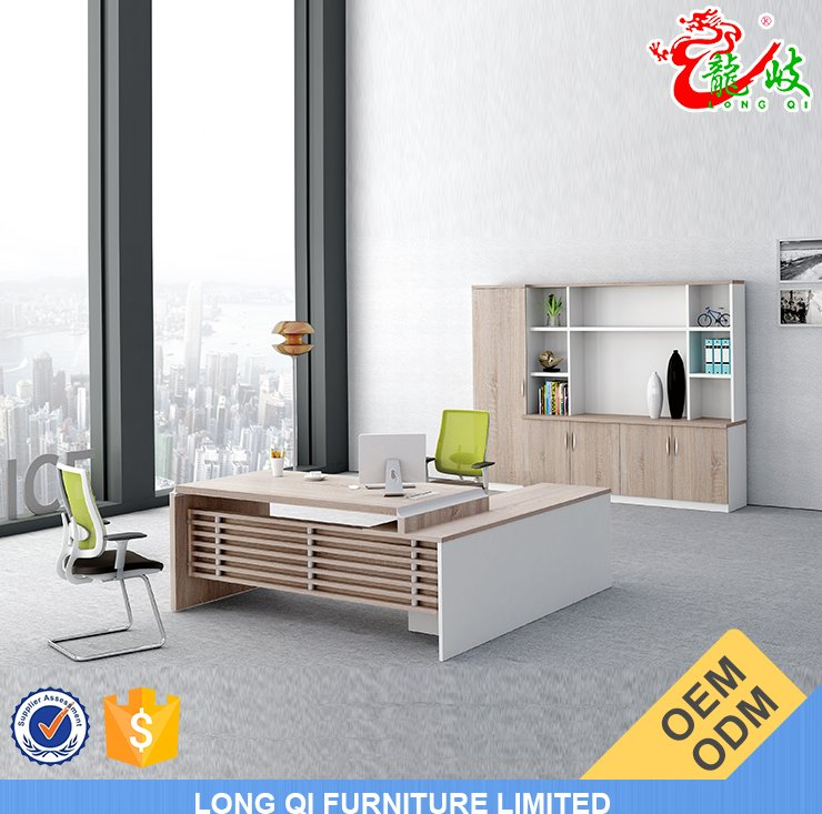 Lastest designs top quality melamine modern office table design furniture executive office desk