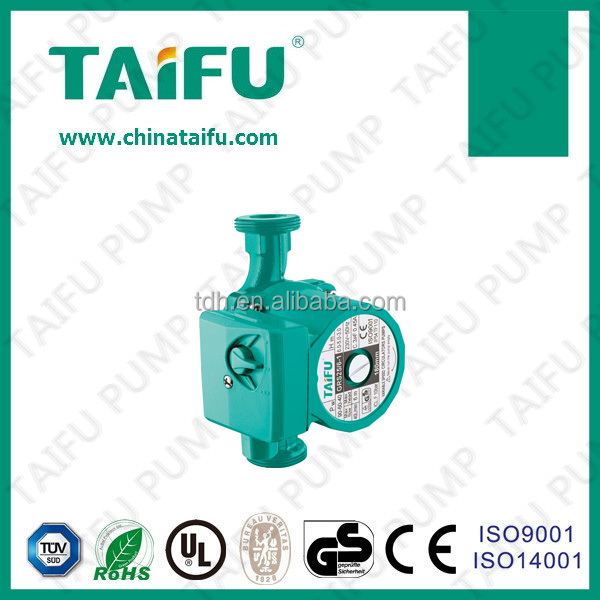 TAIFU solar water heater circulate small fluid small water pressure booster pump