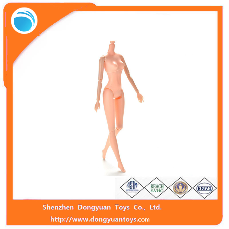 2017 New Products Movable Nude Naked Doll Body Parts