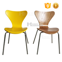 Fast food stackable replica arne jacobsen series 7 chair