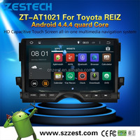 "for Toyota REIZ Android 4.4.4 car dvd 10"" android tablet double din car dvd player"