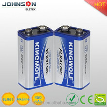 ln the alkaline battery 6lr61 9V
