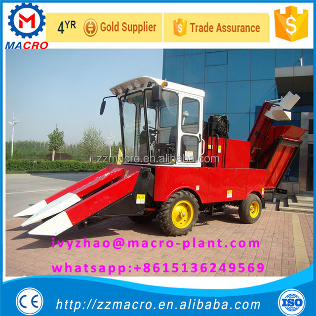 Agricultural machinery corn maize combine harvester