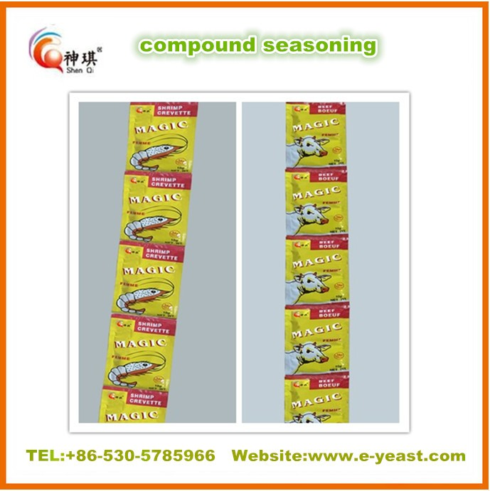 10g beef seasoning cube/powder China supplier
