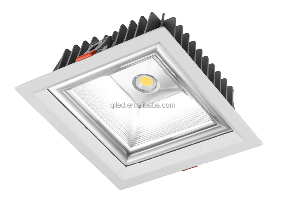 Square Dimmable LED spot Light Recessed Ceiling Led Panel Light spot Downlight