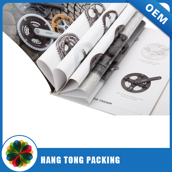 fashion high quality design glossy printing brochure art paper catalogue